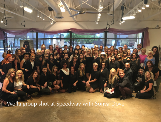 Wella group shot '17